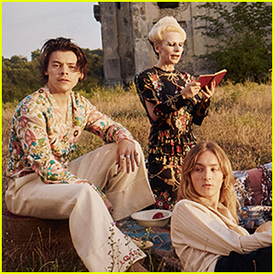 Harry Styles Stars in Gucci's Memoire D'Une Odeur Fragrance Campaign