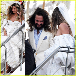 Heidi Klum & Tom Kaulitz Get Married Again - See Wedding Photos!