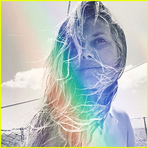 Heidi Klum Smiles Topless in NSFW Instagram Pic After Tying the Knot Again With Tom Kaulitz