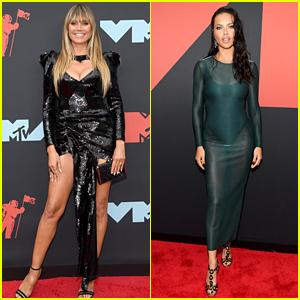 Heidi Klum & Adriana Lima Strike a Pose at the MTV VMAs 2019