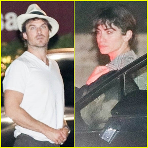 Ian Somerhalder & Nikki Reed Step Out for Rate Date Night in Beverly Hills