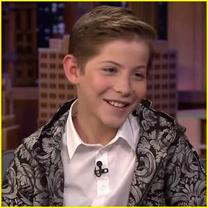 Jacob Tremblay Gives Hilarious Impression Of Seth Rogen On The Tonight Show Jacob Tremblay Just Jared