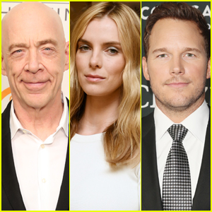 J.K. Simmons & Betty Gilpin in Talks to Join Chris Pratt in 'Ghost Draft'