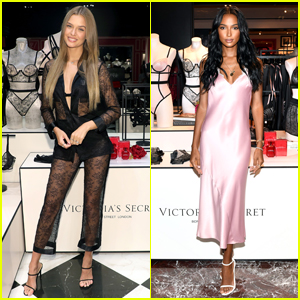 Josephine Skriver & Jasmine Tookes Promote New Victoria's Secret Collection!