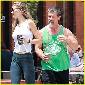 Josh Brolin Looks Buff After Hitting the Gym With Kathryn Boyd