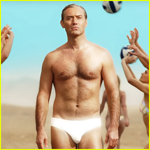 Jude Law Wears Just a Speedo in 'The New Pope' Trailer!