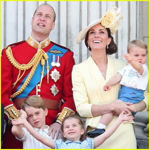 Passenger Reacts to Prince William, Kate Middleton & Their Three Kids Flying Commercial Airline