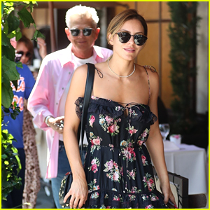 Katharine McPhee & David Foster Grab Lunch Ahead of Concert Taping