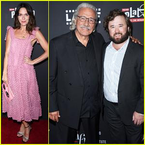 Katie Aselton & Haley Joel Osment Celebrate 'The Devil Has A Name' Premiere!