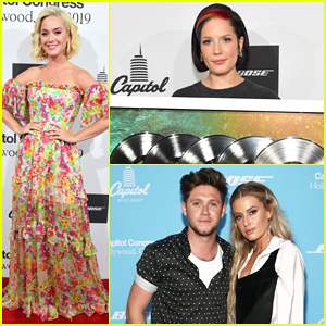 Katy Perry, Halsey & Niall Horan Present New Music at Capitol Congress 2019!