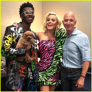 Katy Perry & Lil Nas X Celebrate Amazon Prime Day Thank You Concert with Jeff Bezos!