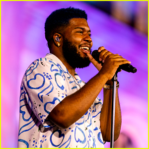 Khalid Performs at Apple Music's Up Next Live