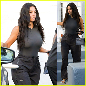 Kim Kardashian Runs Errands in Beverly Hills After Her Trip to the Bahamas