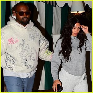 Kim Kardashian Makes Rare Appearance Out with No Makeup For Date Night with Kanye West