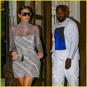 Kim Kardashian Gets Dressed Up for Dinner Date with Kanye West