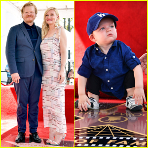 Kirsten Dunst Gets Support from Fiance Jesse Plemons & Son Ennis at Walk of Fame Honor!