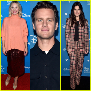 Kristen Bell, Jonathan Groff, & Idina Menzel Promote 'Frozen 2' at D23 Expo 2019