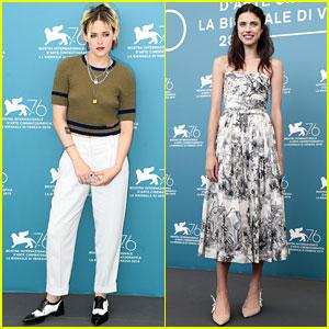 Kristen Stewart & Margaret Qualley Join 'Seberg' Cast at Venice Film Festival Photo Call