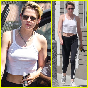 Kristen Stewart Steps Out in L.A. After Kissing Writer Dylan Meyer in NYC
