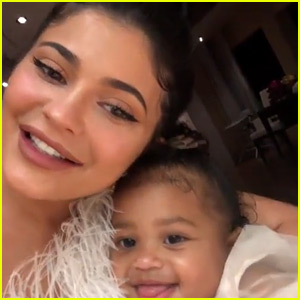 Watch Kylie Jenner's Daughter Stormi Sing 'Happy Birthday' to Her! (Video)