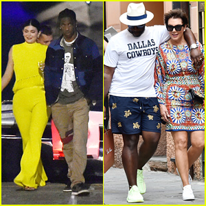 Kylie Jenner Wows in Bright Yellow Outfit For Dinner Date With Travis Scott
