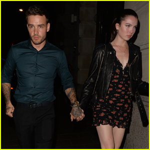 Liam Payne Holds Hands With Maya Henry During Date Night