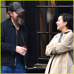 Stranger Things' David Harbour Hangs Out with Lily Allen in London
