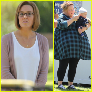 Mandy Moore & Chrissy Metz Film 'This Is Us' in L.A.