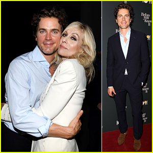 Matt Bomer Supports Judith Light at 'Before You Know It' NYC Premiere!