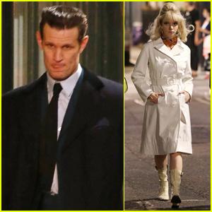 Matt Smith & Anya Taylor-Joy Continue Filming 'Last Night in Soho' in London