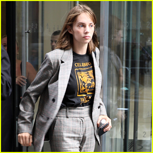 Maya Hawke Steps Out to Promote Her New Music!