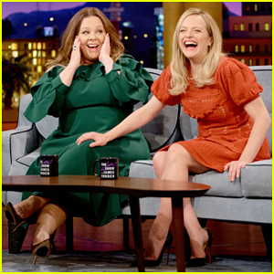 Melissa McCarthy Assumed Her 'The Kitchen' Co-Star Elisabeth Moss Would Be 'Intense'!