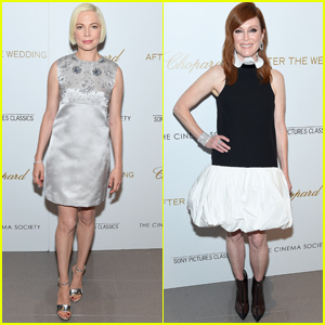 Michelle Williams & Julianne Moore Step Out for 'After the Wedding' Premiere in NYC