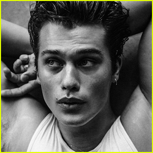 Nicholas Galitzine Plays With Knives in Hot Photo Shoot