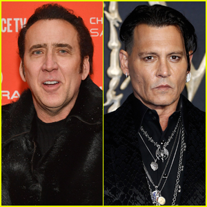 Nicolas Cage Says He Convinced Johnny Depp to Become an Actor