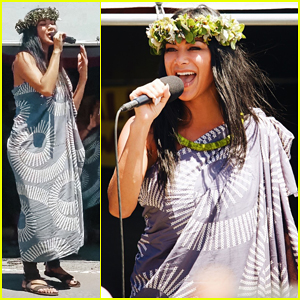 Nicole Scherzinger Makes Surprise Visit to Mauna Kea in Support of Protesters!