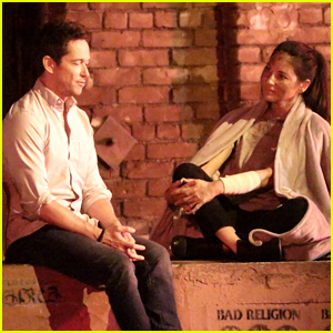 Olivia Munn Films 'Violet' Movie Alongside Simon Quarterman
