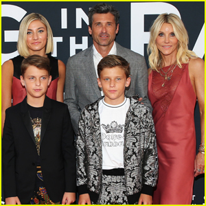 Patrick Dempsey Joined By Wife Jillian Their Kids At Art Of