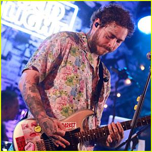 Post Malone Debuts 'Circles' at Bud Light Dive Bar Show - Watch & Listen!