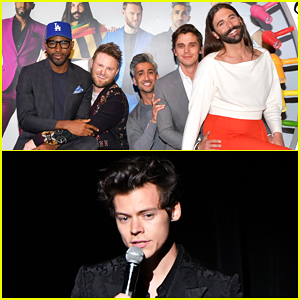 'Queer Eye' Fab Five Reveal They Introduced Harry Styles to Grindr - Watch Here!