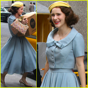 Rachel Brosnahan Continues Filming 'Marvelous Mrs. Maisel' After Trailer Debut!