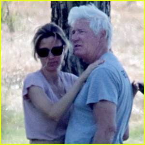 Richard Gere & Wife Alejandra Silva Pack on the PDA on Vacation in Italy