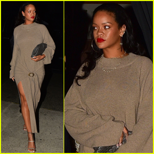 Rihanna Meets Up With Her Mom Monica for Dinner in Santa Monica