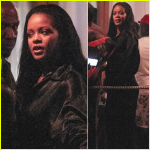 Rihanna Parties with Friends in Barbados!