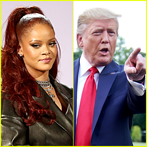 Rihanna Calls Out Donald Trump for Lack of Action on Gun Control