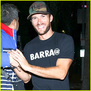Scott Eastwood Enjoys a Night Out at Warwick in LA
