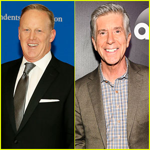 Sean Spicer Reacts to Tom Bergeron's 'DWTS' Comments