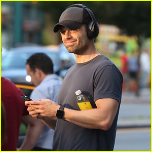 Sebastian Stan Is All Smiles After a Gym Session in NYC