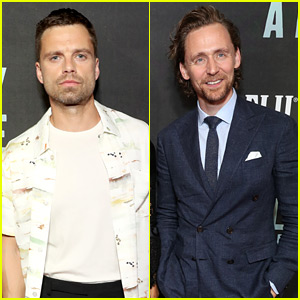 Sebastian Stan & Tom Hiddleston Support Fellow Marvel Star