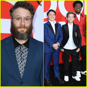 Seth Rogen Joins the Stars of 'Good Boys' at the Movie Premiere!
